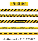 police isolated insulation line.... | Shutterstock .eps vector #1101198872