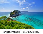 landscape of sea in the andaman ... | Shutterstock . vector #1101221282