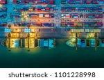 logistics and transportation of ... | Shutterstock . vector #1101228998