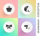 modern  simple vector icon set... | Shutterstock .eps vector #1101237116