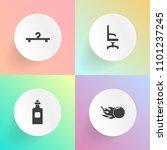 modern  simple vector icon set... | Shutterstock .eps vector #1101237245