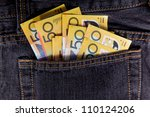 australian bank notes | Shutterstock . vector #110124206