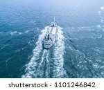 aerial view of the sea and a... | Shutterstock . vector #1101246842