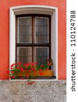 Bavarian Window Decorated With...