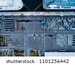 aerial shooting of a large... | Shutterstock . vector #1101256442