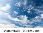 Beauty Cloudy Heaven  Blue Sky.