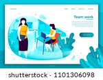 vector concept illustration   ... | Shutterstock .eps vector #1101306098