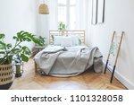 modern scandinavian sunny... | Shutterstock . vector #1101328058