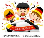 vector illustration of germany... | Shutterstock .eps vector #1101328832