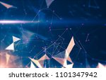 abstract geometric background... | Shutterstock . vector #1101347942