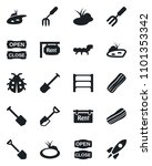 set of vector isolated black...   Shutterstock .eps vector #1101353342