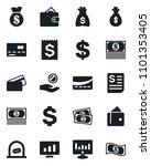 set of vector isolated black... | Shutterstock .eps vector #1101353405