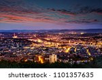 Evening Shot Of Stuttgart ...