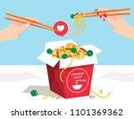 illustration vector flat... | Shutterstock .eps vector #1101369362