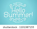 lettering comosition with text... | Shutterstock .eps vector #1101387155