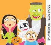 halloween party nights | Shutterstock .eps vector #110139722
