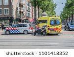 police motor and ambulance and... | Shutterstock . vector #1101418352