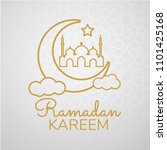 ramadan backgrounds crescent... | Shutterstock .eps vector #1101425168