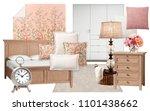 interior collage. mood board... | Shutterstock . vector #1101438662