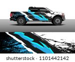 truck decal vector  graphic... | Shutterstock .eps vector #1101442142