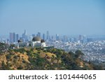 griffith observatory  la  usa | Shutterstock . vector #1101444065