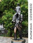 prague  czech republic  ...   Shutterstock . vector #1101448232