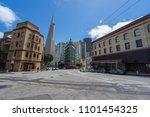 san francisco  california usa   ... | Shutterstock . vector #1101454325