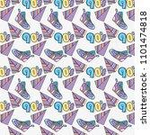 pop art background | Shutterstock .eps vector #1101474818