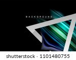 liquid fluid colors holographic ... | Shutterstock .eps vector #1101480755
