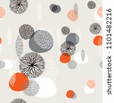 abstract boho style seamless... | Shutterstock .eps vector #1101482216