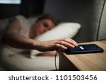 young adult male struggling on... | Shutterstock . vector #1101503456