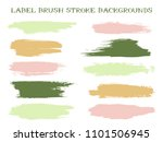 isolated label brush stroke... | Shutterstock .eps vector #1101506945