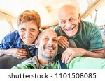 senior happy couple with son... | Shutterstock . vector #1101508085