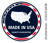 made in united states of... | Shutterstock .eps vector #1101513428