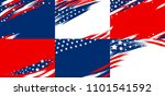 set of usa banner abstract... | Shutterstock .eps vector #1101541592