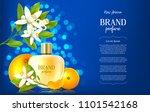 ad banner of luxury perfume...   Shutterstock .eps vector #1101542168