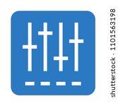 adjustment vector icon