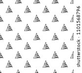 triangles. black and white... | Shutterstock .eps vector #1101568796