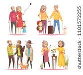 longevity 2x2 design concept... | Shutterstock .eps vector #1101572255