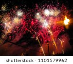 Colorful Fireworks Show