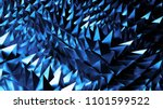3d abstract background with... | Shutterstock . vector #1101599522