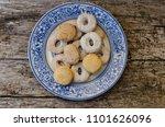 detail on mantecados ... | Shutterstock . vector #1101626096
