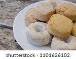 polvorones  mantecados and... | Shutterstock . vector #1101626102