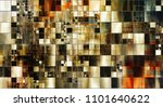 art abstract colorful geometric ...   Shutterstock . vector #1101640622