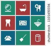 hygiene icon. collection of 9...   Shutterstock .eps vector #1101650336