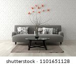 part of modern interior design... | Shutterstock . vector #1101651128