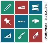 stationery icon. collection of...   Shutterstock .eps vector #1101653348