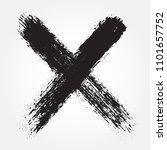 x.grunge letter x.vector cross... | Shutterstock .eps vector #1101657752