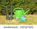 garden tools | Shutterstock . vector #110167442