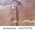 abstract rusty metal texture ... | Shutterstock . vector #1101737792